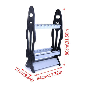 Fishing Rod Display Rack Stand