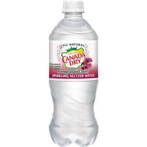 Canada Dry Pomegranate Sparkling Seltzer Water