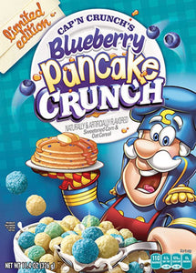 Blueberry Pancake Captain Crunch