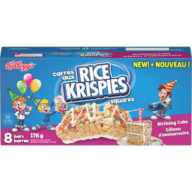 Birthday Cake Rice Krispies