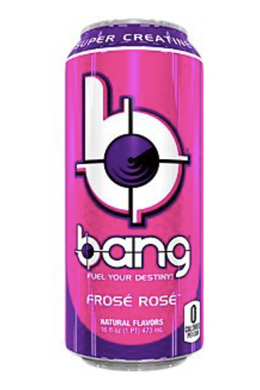 Frose Rose Bang Energy Drink