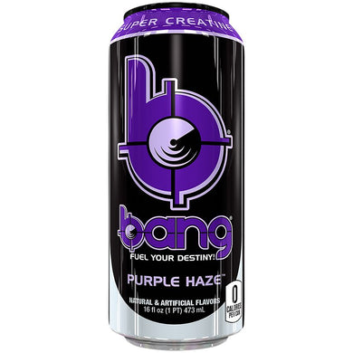 Purple Haze Bang Energy Drink
