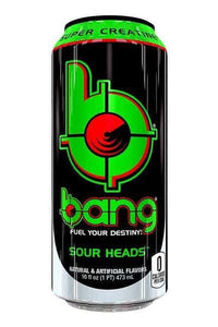 Sour Heads Bang Energy Drink