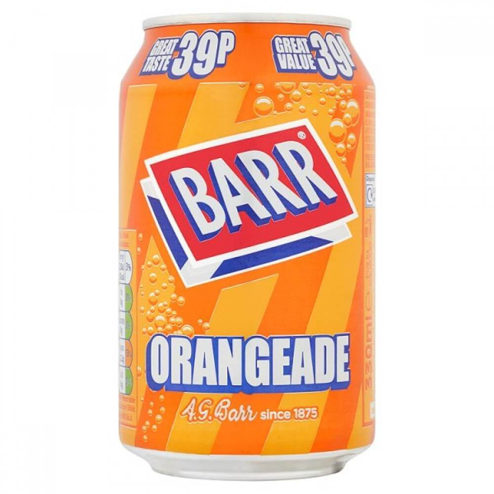 Orangeade Barr Soda (UK)