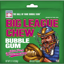 Load image into Gallery viewer, Big League Chew Watermelon (Pack Of 12)