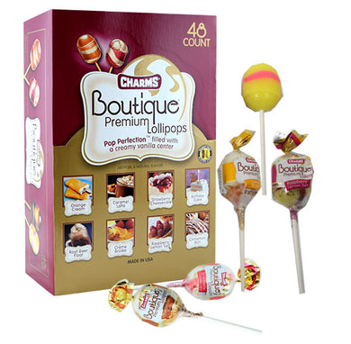 Boutique Premium Lollipops Blow Pops (48 Count)