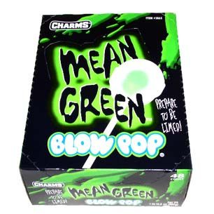 Mean Green Blow Pops (48 Count)