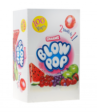 Load image into Gallery viewer, 2 Treats in 1 Blow Pops (100 Count)