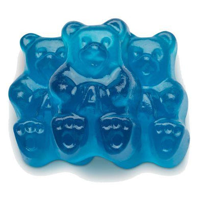 Albanese Blue Raspberry Bear Gummies 5lb Bag