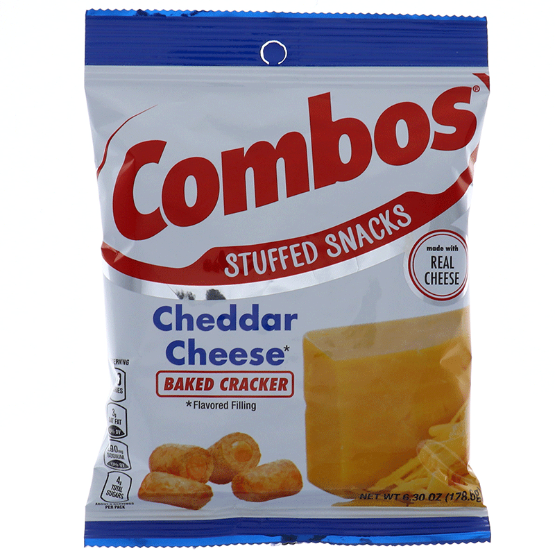 Cheddar Cheese (Baked Cracker) Combos