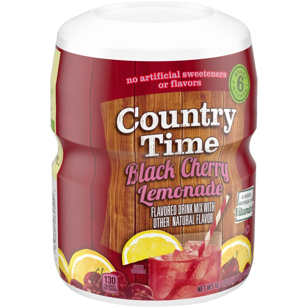 Country Time Black Cherry Lemonade