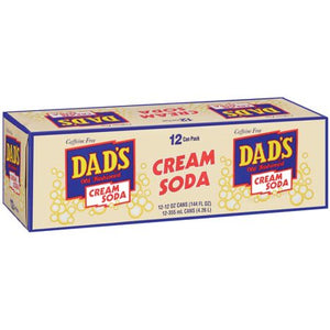 Dads White Cream Soda