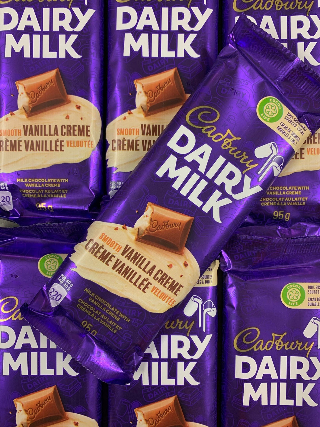 Dairy Milk Smooth Vanilla Creme