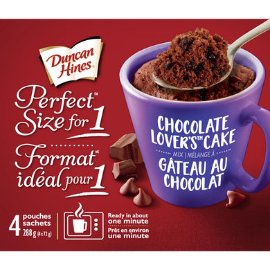 Duncan Hines Mug Cake (Chocolate Lovers Cake)