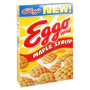 Eggo Maple Syrup Cereal