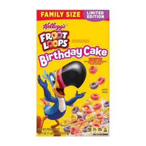Fruit Loops Birthday Cake