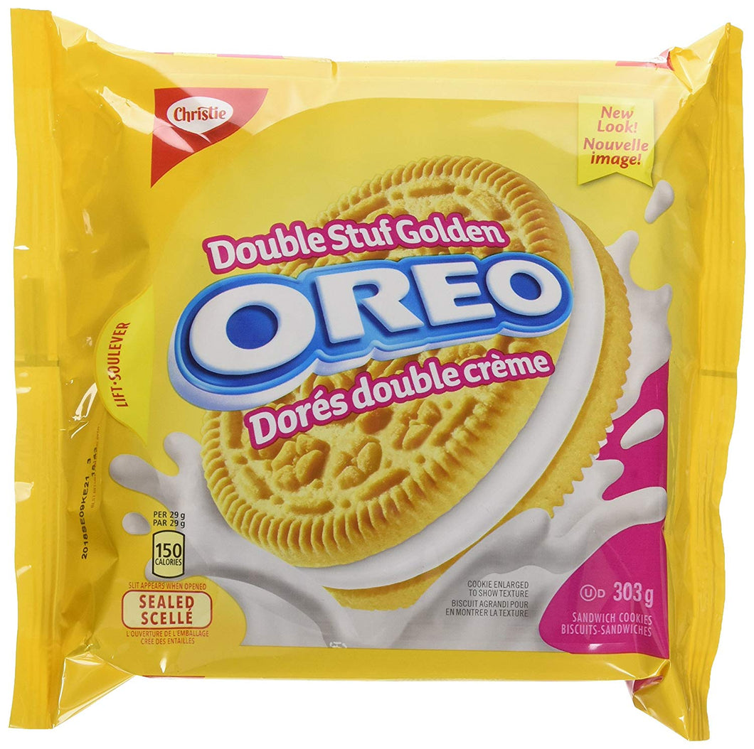 Golden Double Stuffed Oreos