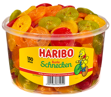 Load image into Gallery viewer, Haribo Bunte Schnecken (UK)