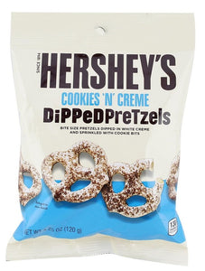 Hershey's Dipped Pretzels Cookies And Cream