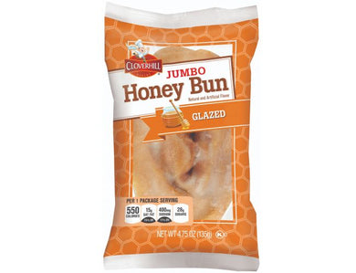 Cloverhill Jumbo Honey Bun Glazed