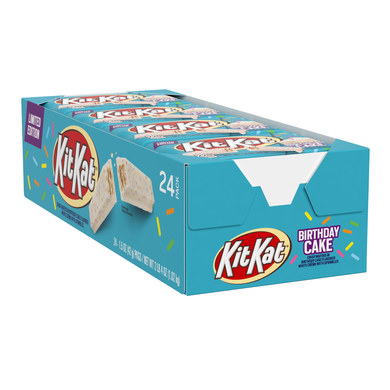 Birthday Cake Kit Kat (Box Of 24)