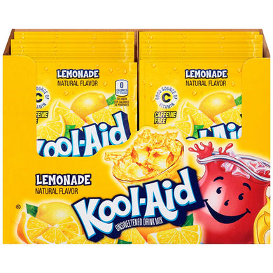 Kool Aid Lemonade 48 Count Box
