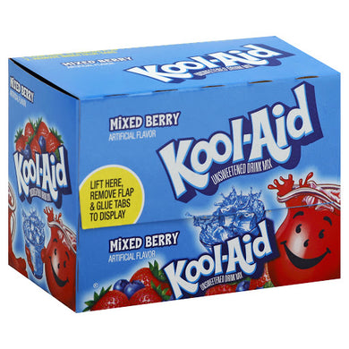 Kool Aid Mixed Berry 48 Count Box