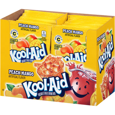 Kool Aid Peach Mango 48 Count Box