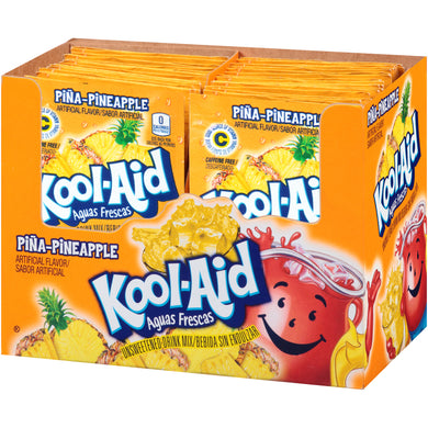 Kool Aid Pina-Pineapple 48 Count Box