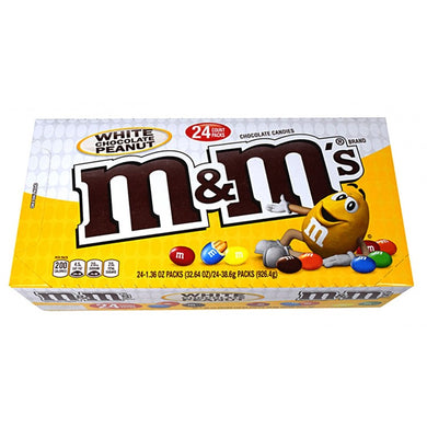 M&M's Peanut White Chocolate (Box Of 24)