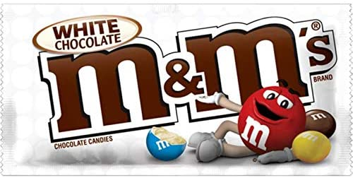 M&M's White Chocolate