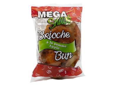 Mega Snacks Brioche Apple