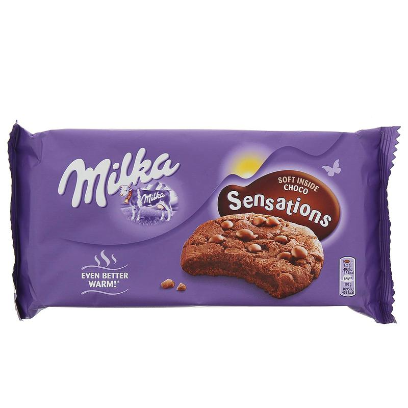 Double Chocolate Milka Cookie Sensations