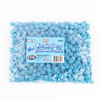 Blue Raspberry Sour Mini's 1kg Bag