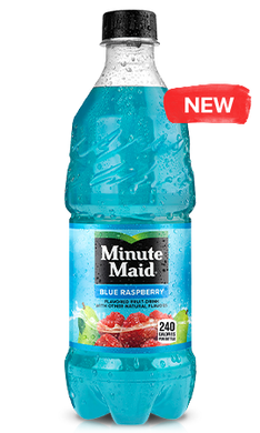 Minute Maid Blue Raspberry