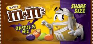 M&M's Ghoul's Mix Share Size (Box Of 24)