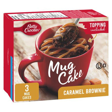 Betty Crocker Mug Cake (Caramel Brownie)