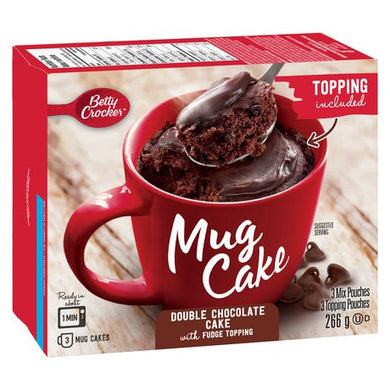 Betty Crocker Mug Cake (Double Chocolate)
