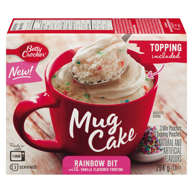 Betty Crocker Mug Cake (Rainbow Bit)