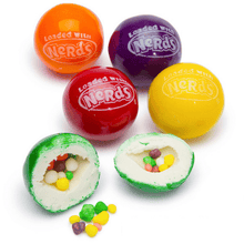 Load image into Gallery viewer, Nerds Gumballs 5 Piece Gumballs