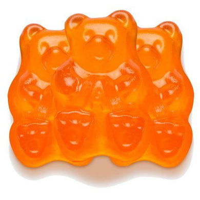 Albanese Orange Bear Gummies 5lb Bag