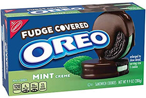 Oreo Fudge Covered Mint