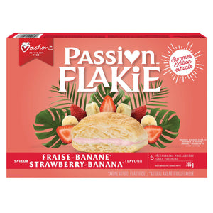 Passion Flakie Strawberry Banana