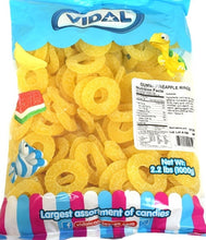 Load image into Gallery viewer, Sour Pineapple Slices 1.2kg Bag