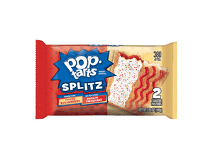 Strawberry Frosted/Drizzled Cheesecake Pop Tarts (One Pack)