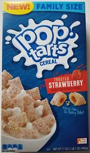 Pop Tarts Cereal Strawberry
