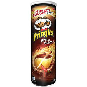 Hot And Spicy Pringles