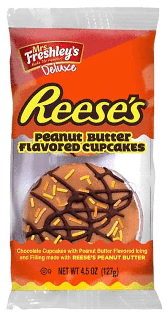 Mrs. Freshley's Reese's Peanut Butter Cupcakes