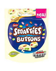 White Chocolate Smarties Buttons