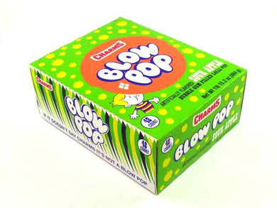 Sour Apple Blow Pops (48 Count)
